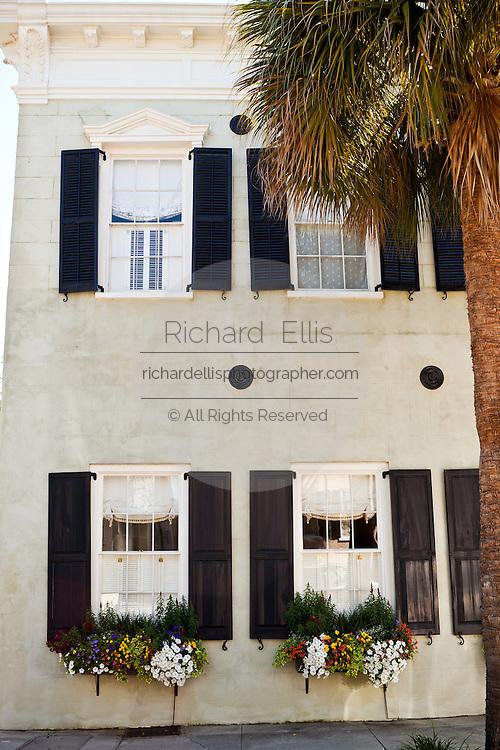 Historic home on Meeting Street in Charleston, SC.