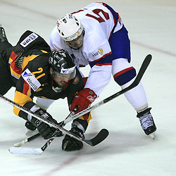 20080507: Ice Hockey - IIHF World Championship, Germany vs Norway, Halifax, Canada