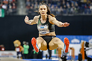 Ivana Spanovic, long jump, during the 6th ISTAF Indoor Meeting at Berlin Mercedez Benz Arena, Berlin, Germany on 1 February 2019.
