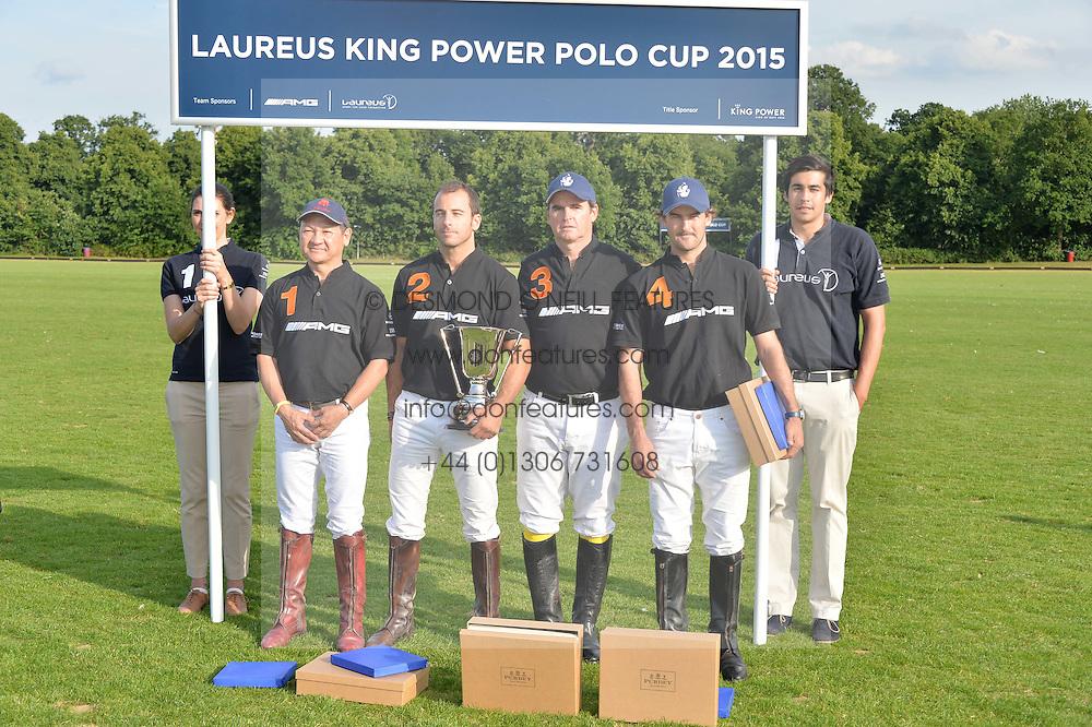 at the Laureus Polo held at Ham Polo Club, Ham, Richmond, Surrey on 18th June 2015.