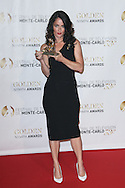 MONTE-CARLO, MONACO - JUNE 13:  Robin Tunney receives the Best Drama TV Series Award during the closing ceremony of the 53rd Monte Carlo TV Festival on June 13, 2013 in Monte-Carlo, Monaco.  (Photo by Tony Barson/FilmMagic)