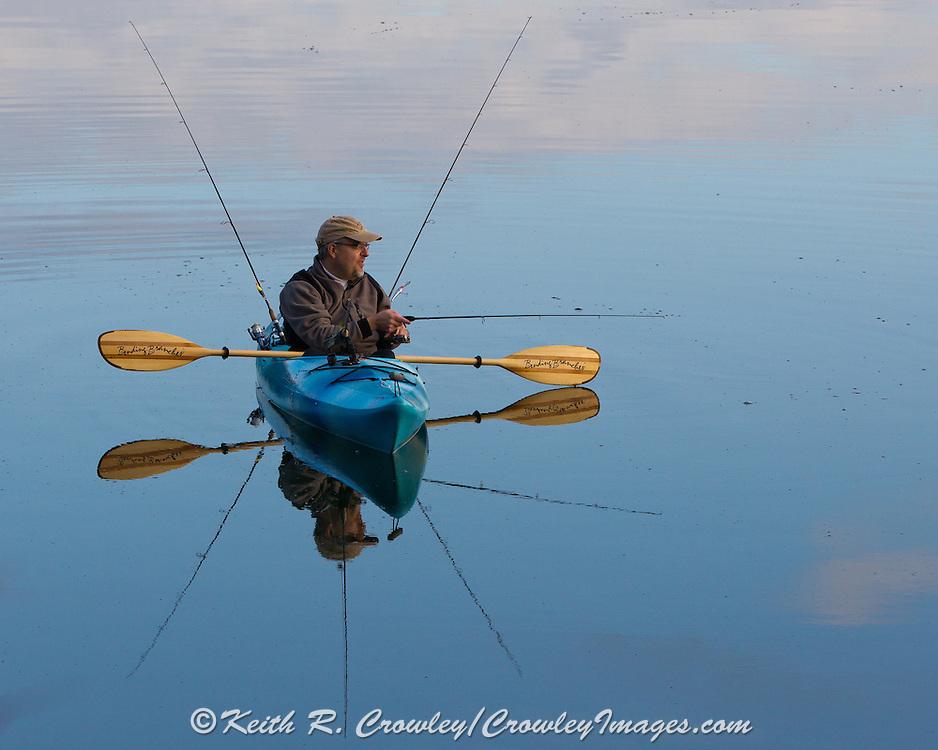 Fishing Kayak fishing for trout and panfish
