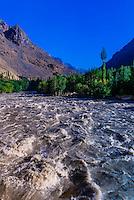 Shingo River; Ladakh, Jammu and Kashmir State, India.