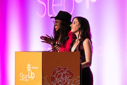 Kalen Aubry, and Founder of Step Up Women's Network Kaye Popofsky Kramer