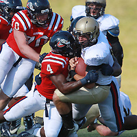11-03-2012 - Samford vs Wofford Football