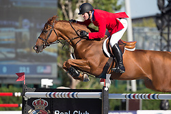 Ward Mclain (USA) - Rothchild<br /> Final First Competition<br /> Furusiyya FEI Nations Cup™ Final - Barcelona 2014<br /> © Dirk Caremans