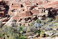 Village in the Ounila Valley, Morocco.