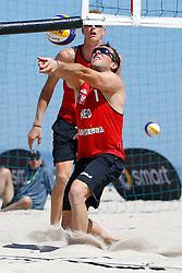 20140605 ITA: EK Beachvolleybal, Cagliari<br /> Daan Spijkers<br /> ©2014-FotoHoogendoorn.nl / Pim Waslander