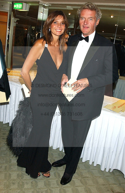 COUNT LEOPOLD & COUNTESS DEBONAIRE VON BISMARCK at the Chain of Hope 10th Anniversary Ball held at The Dorchester, Park Lane, London on 1st November 2005.<br />