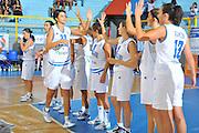 DESCRIZIONE : Cagliari Qualificazioni Campionati Europei Italia Croazia <br /> GIOCATORE : Team Italia<br /> SQUADRA : Nazionale Italia Donne <br /> EVENTO :  Qualificazioni Campionati Europei Nazionale Italiana Femminile <br /> GARA : Italia Croazia<br /> DATA : 02/08/2010 <br /> CATEGORIA : Presentazione<br /> SPORT : Pallacanestro <br /> AUTORE : Agenzia Ciamillo-Castoria/M.Gregolin<br /> Galleria : Fip Nazionali 2010 <br /> Fotonotizia : Cagliari Qualificazioni Campionati Europei Italia Croazia<br /> Predefinita :