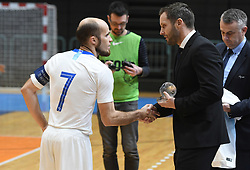 Igor Osredkar of Slovenia before futsal friendly match between National teams of Slovenia and Italy, on December 3, 2019 in Maribor, Slovenia. Photo by Milos Vujinovic / Sportida