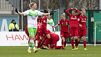 BILDET INNGÅR IKKE I FASTAVTALER. ALL NEDLASTING BLIR FAKTURERT.<br /> <br /> Fotball<br /> Tyskland<br /> 20.02.2016<br /> Foto: imago/Digitalsport<br /> NORWAY ONLY<br /> <br /> Fußball, Allianz Frauen Bundesliga, VfL Wolfsburg - FC Bayern München; Jubel, Torjubel, Freude, Emotion, Torerfolg, Aktion, action, goal, goal celebration, celebrates nach 0:1 durch Melanie Behringer, Alexandra Popp (Alex Popp, Wolfsburg, 11) enttäuscht, frustriert, niedergeschlagen Enttäuschung, Frust, disappointed. xtgx