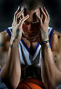 KIngs Mike Bibby during Media day. Picture taken Monday, October 3, 2005.