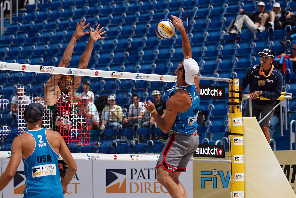 Swatch FIVB Patria Direct Open 2010 - USA vs ESP