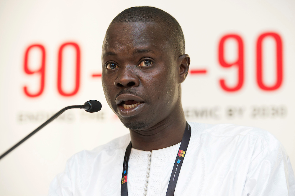 03 June 2015 - Belgium - Brussels - European Development Days - EDD - Health - 90-90-90 - An ambitious treatment target to help end the AIDS epidemic - Daouda Diouf , Director © European Union