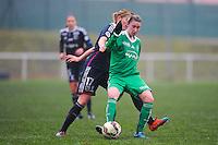 Audrey Chaumette  - 03.12.2014 - Saint Etienne / Lyon - 11eme journee de Division 1<br /> Photo : Thomas Pictures / Icon Sport