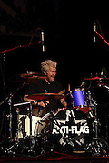 Anti-Flag performs at The Congress Theater in Chicago, Illinois for Riotfest 2010 on 2010-10-09.