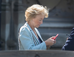 © Licensed to London News Pictures. 07/07/2016. London, UK.  Conservative party leadership candidate Andrea Leadsom at Parliament. A second round of voting for the leadership of Conservative party is taking place today.  Photo credit: Peter Macdiarmid/LNP