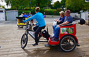 Victoria, Canada, bicycle tourist transportation