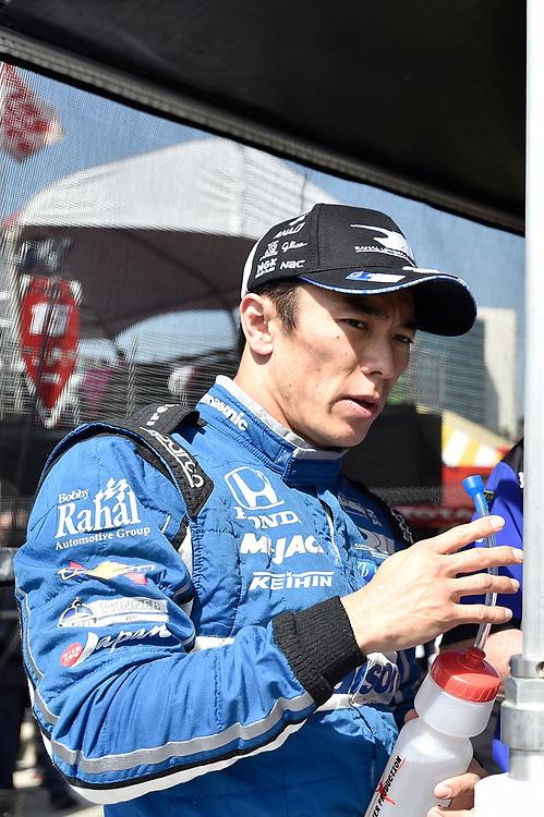 Takuma Sato, Rahal Letterman Lanigan Racing Honda<br /> Friday 13 April 2018<br /> Toyota Grand Prix of Long Beach<br /> Verizon IndyCar Series<br /> Streets of Long Beach, California USA<br /> World Copyright: Scott R LePage<br /> LAT Images