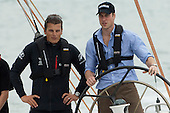 Prince William sails with ETNZ