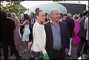 CHLOE GREEN; SIR PHILIP GREEN, 2014 Serpentine's summer party sponsored by Brioni.with a pavilion designed this year by Chilean architect Smiljan Radic  Kensington Gdns. London. 1July 2014