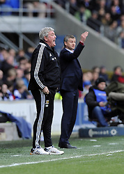 Hull City Manager,Steve Bruce - Photo mandatory by-line: Joe Meredith/JMP - Tel: Mobile: 07966 386802 22/02/2014 - SPORT - FOOTBALL - Cardiff - Cardiff City Stadium - Cardiff City v Hull City - Barclays Premier League