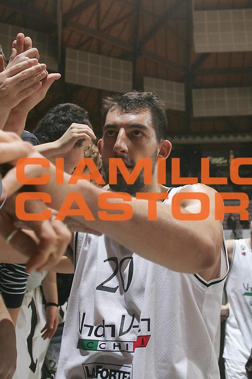 DESCRIZIONE : Bologna Eurolega 2007-08 VidiVici Virtus Bologna Union Olimpija Lubiana Ljubljana<br /> GIOCATORE : Luca Garri<br /> SQUADRA : VidiVici Virtus Bologna<br /> EVENTO : Eurolega 2007-2008 <br /> GARA : VidiVici Virtus Bologna Union Olimpija Lubiana Ljubljana<br /> DATA : 29/11/2007 <br /> CATEGORIA : Esultanza<br /> SPORT : Pallacanestro <br /> AUTORE : Agenzia Ciamillo-Castoria/M.Minarelli<br /> Galleria : Eurolega 2007-2008 <br /> Fotonotizia : Bologna Eurolega 2007-08 VidiVici Virtus Bologna Union Olimpija Lubiana Ljubljana<br /> Predefinita :