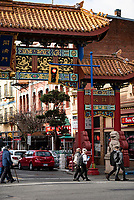 Chinatown in Victoria, BC, is the oldest in the province and spans a few blocks near the waterfront of the downtown core.
