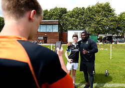 Biyi Alo of Worcester Warriors poses for a picture as Worcester Warriors host a summer holiday rugby camp at Malvern College - Mandatory by-line: Robbie Stephenson/JMP - 16/08/2017 - RUGBY - Malvern College - Worcester, England - Worcester Warriors - Malvern Rugby Camp