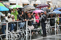 Crowds wait to see the arrivals for the Vous N'Avez Encore Rien Vu gala screening at the 65th Cannes Film Festival France. Monday 21st May 2012 in Cannes Film Festival, France.