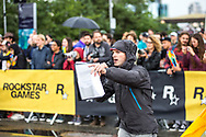 Red Hook Crit London no. 3<br /> Commentator Gabe Lloyd<br /> <br /> Photo: Tornanti.cc