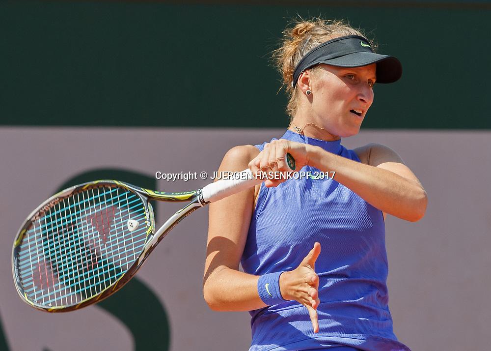 MARKETA VONDROUSOVA (CZE)<br /> <br /> Tennis - French Open 2017 - Grand Slam ATP / WTA -  Roland Garros - Paris -  - France  - 1 June 2017.