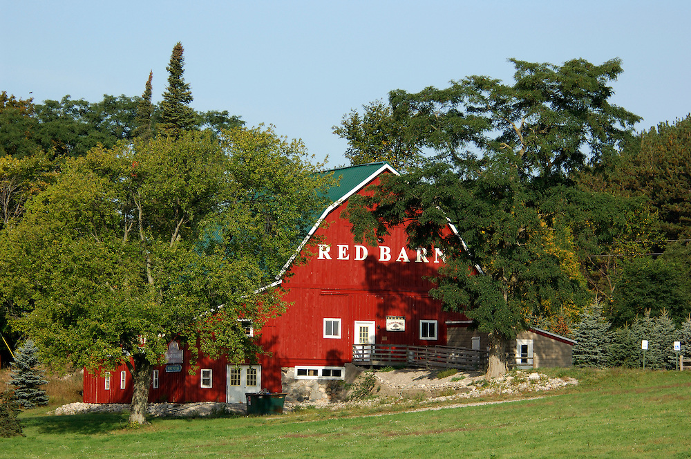 Red Barn, near Empire, Michigan, USA