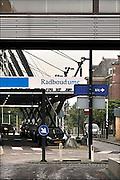Nederland, Nijmegen, 6-10-2015Ingang, hoofdingang, gebouw radboudumc, umc radboud, umcn, academisch, universitair ziekenhuis. Gisteren is een kinderarts die hier werkt gearresteerd vanwege het in bezit hebben van kinderporno.Foto: Flip Franssen/HH