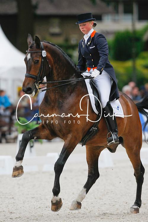 Schreven Jenny (NED) - Krawall<br /> Nederlands Kampioenschap Dressuur - De Steeg 2009<br /> Photo &copy; Dirk Caremans