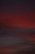 Sunset sky, autumn