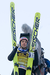 Andreas Kofler of Austria after he competed during Final round of the FIS Ski Jumping World Cup event of the 58th Four Hills ski jumping tournament, on January 3, 2010 in Bergisel, Innsbruck, Austria.(Photo by Vid Ponikvar / Sportida)