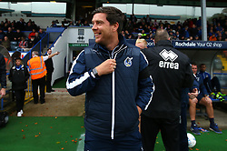 Bristol Rovers manager Darrell Clarke - Mandatory by-line: Robbie Stephenson/JMP - 21/10/2017 - FOOTBALL - Crown Oil Arena - Rochdale, England - Rochdale v Bristol Rovers - Sky Bet League One