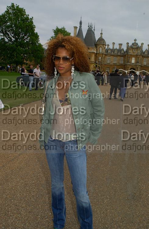 Kelis, Louis Vuitton classic and celebration of their 150 anniversary. Waddesdon Manor, June 4 2004. ONE TIME USE ONLY - DO NOT ARCHIVE  © Copyright Photograph by Dafydd Jones 66 Stockwell Park Rd. London SW9 0DA Tel 020 7733 0108 www.dafjones.com