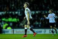 Chris Martin of Derby County rues a near miss during the Sky Bet Championship match at the iPro Stadium, Derby<br /> Picture by Andy Kearns/Focus Images Ltd 0781 864 4264<br /> 24/02/2016