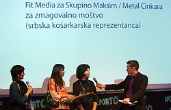 Fit Media for Maksim / Metal Cinkara during Sporto  2010 Gala Dinner and Awards ceremony at Sports marketing and sponsorship conference, on November 29, 2010 in Hotel Slovenija, Portoroz/Portorose, Slovenia. (Photo By Vid Ponikvar / Sportida.com)