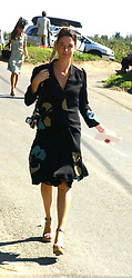 MARY McCARTNEY DONALD daughter of Paul McCartney at the wedding of musician Jools Holland to Lady Crystabel Durham held at Cooling Village Church, Cooling, Kent on 30th August 2005.<br /><br />NON EXCLUSIVE - WORLD RIGHTS