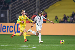 January 30, 2019 - Nantes, France - Kevin Monnet Paquet ( Saint Etienne ) - Valentin Rongier  (Credit Image: © Panoramic via ZUMA Press)