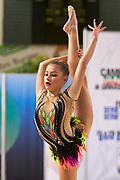 Vanessa Vaselli  from Etruria team during the Italian Rhythmic Gymnastics Championship in Padova, 25 November 2017.
