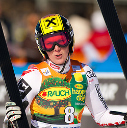 06.03.2011, Pista di Prampero, Tarvis, ITA, FIS Weltcup Ski Alpin, Abfahrt der Damen, im Bild Nicole Hosp (AUT, 13th place) during Ladie's Super-G FIS World Cup Alpin Ski in Tarvisio Italy on 6/3/2011. EXPA Pictures © 2011, PhotoCredit: EXPA/ G. Steinthaler