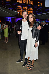 GEORGE FROST and EMMA BORGERHOFF-MULDER at the V&A Summer Party in association with Harrod's held at The V&A Museum, London on 22nd June 2016.