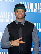 Tristan Wilds attends the Alvin Ailey American Dance Theater opening night Gala at City Center in New York City, New York on December 04, 2013.