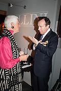 JILL BREMER; SIMON HEWITT, Charity Gala Reception in aid of the Neuroblastoma Society, Bada Antiques and Fine art Fair. Duke of York Sq.  Sloane Sq. London. 19 March 2014.