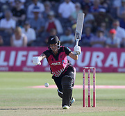 Sophie Devine bats during the international T20 between England Women and the White Ferns at the Brightside Ground, Bristol. Photo: Graham Morris/www.photosport.nz 28/06/18 NZ USE ONLY